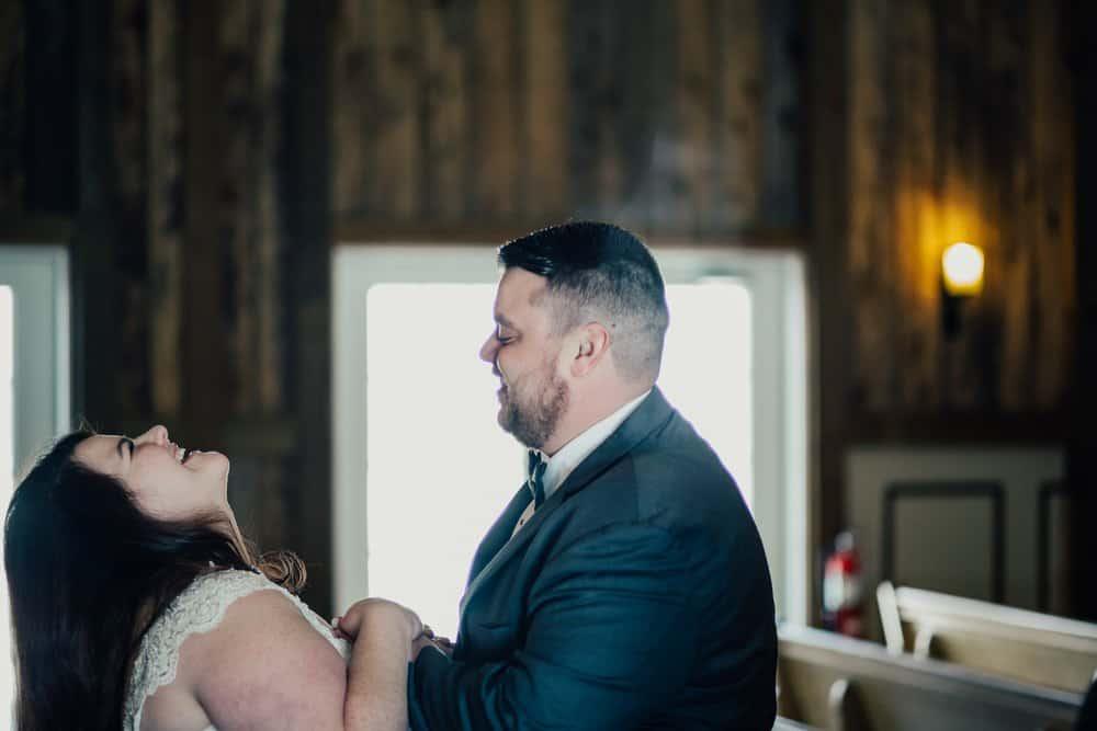 SNOWY OHIO BARN WEDDING | JOSH + HANNAH 21