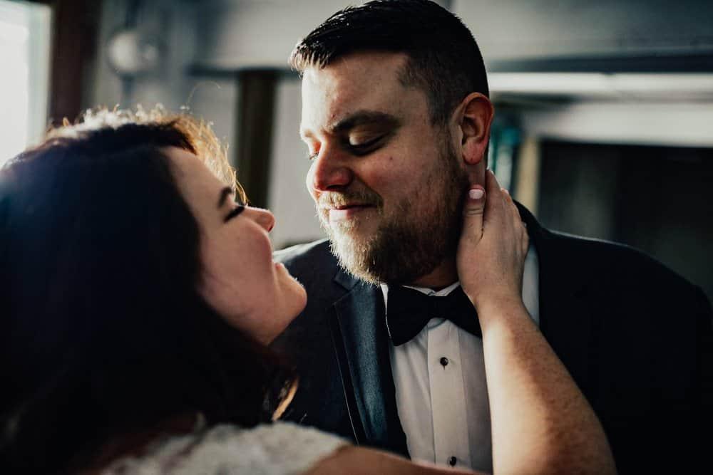 SNOWY OHIO BARN WEDDING | JOSH + HANNAH 23