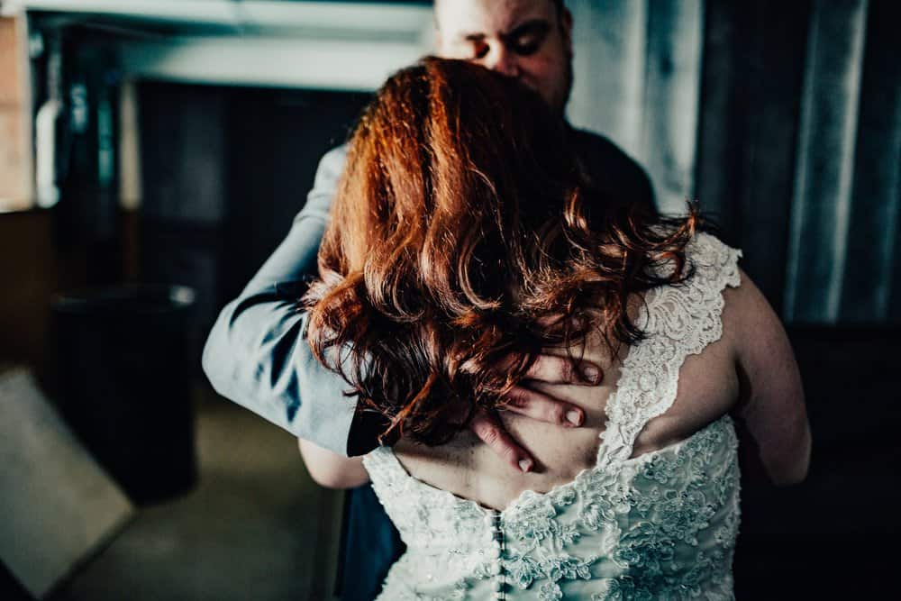 SNOWY OHIO BARN WEDDING | JOSH + HANNAH 25