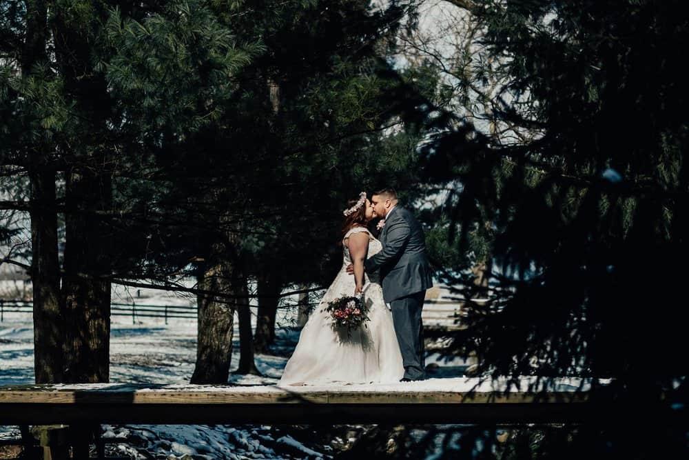SNOWY OHIO BARN WEDDING | JOSH + HANNAH 28