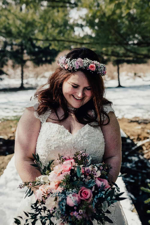 SNOWY OHIO BARN WEDDING | JOSH + HANNAH 30