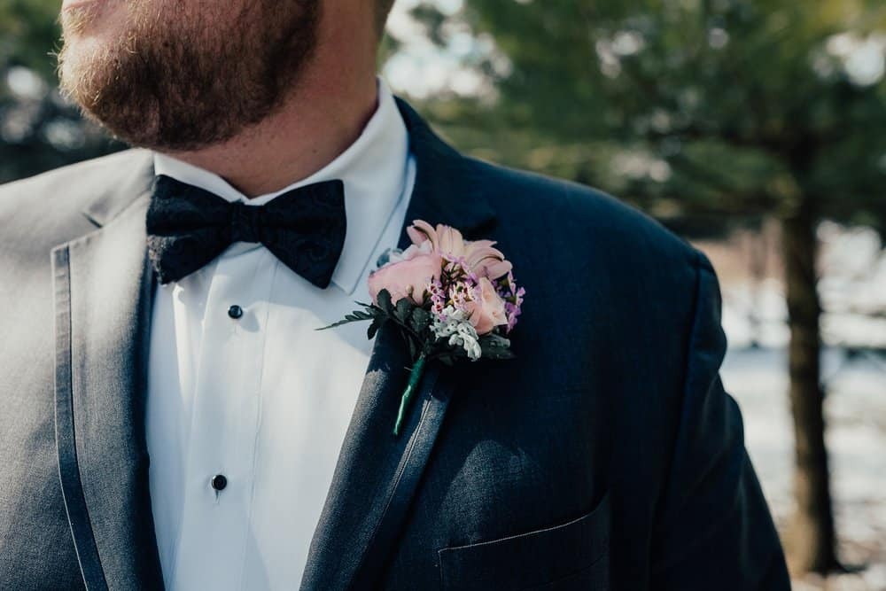 SNOWY OHIO BARN WEDDING | JOSH + HANNAH 32