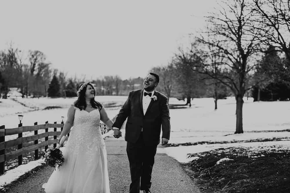 SNOWY OHIO BARN WEDDING | JOSH + HANNAH 36