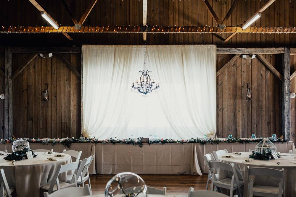 SNOWY OHIO BARN WEDDING | JOSH + HANNAH 9