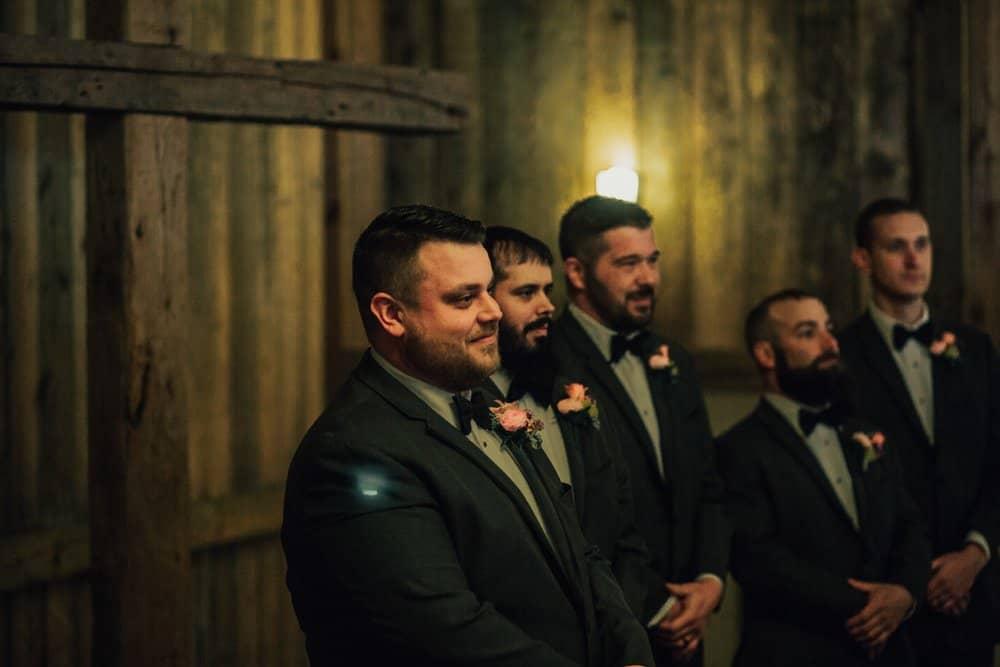 SNOWY OHIO BARN WEDDING | JOSH + HANNAH 43