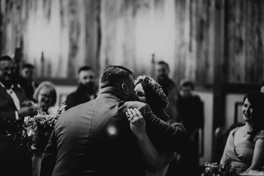 SNOWY OHIO BARN WEDDING | JOSH + HANNAH 45