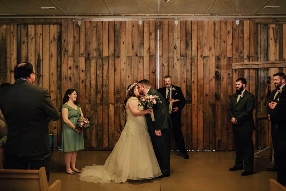SNOWY OHIO BARN WEDDING | JOSH + HANNAH 46
