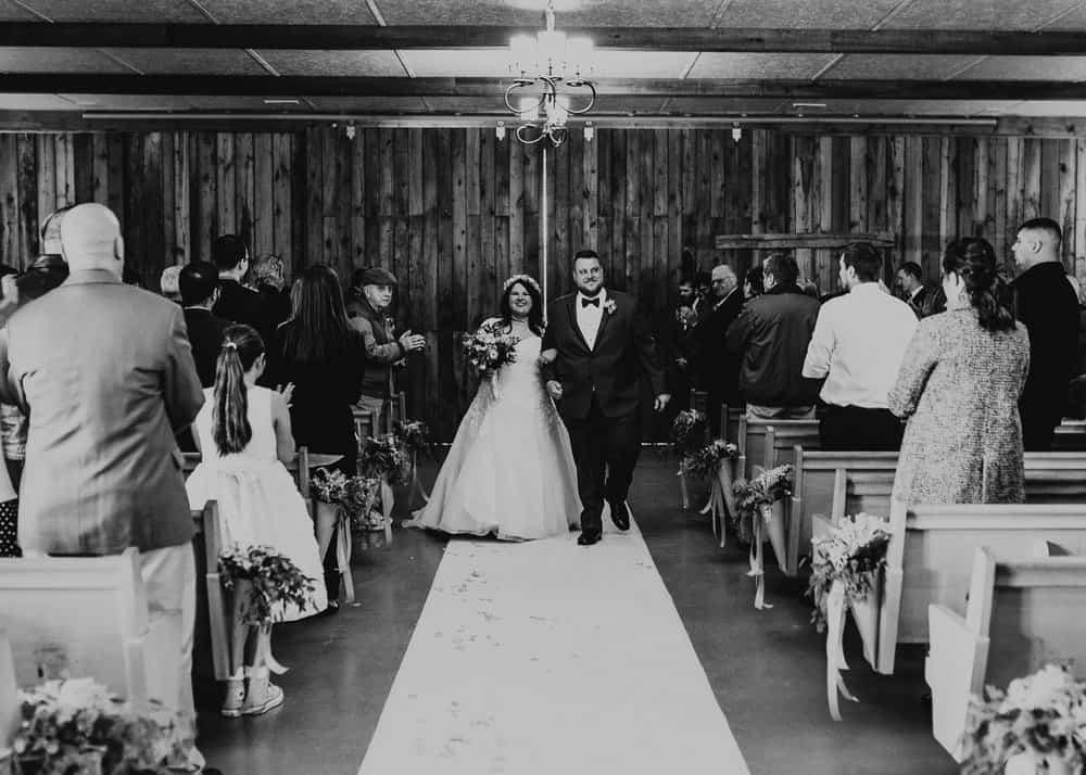 SNOWY OHIO BARN WEDDING | JOSH + HANNAH 47
