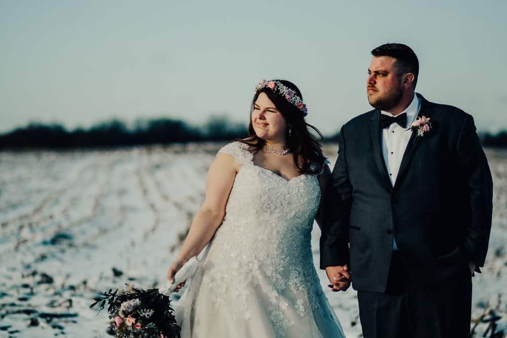 SNOWY OHIO BARN WEDDING | JOSH + HANNAH 50
