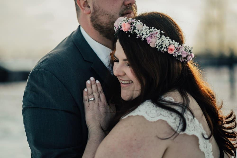 SNOWY OHIO BARN WEDDING | JOSH + HANNAH 51
