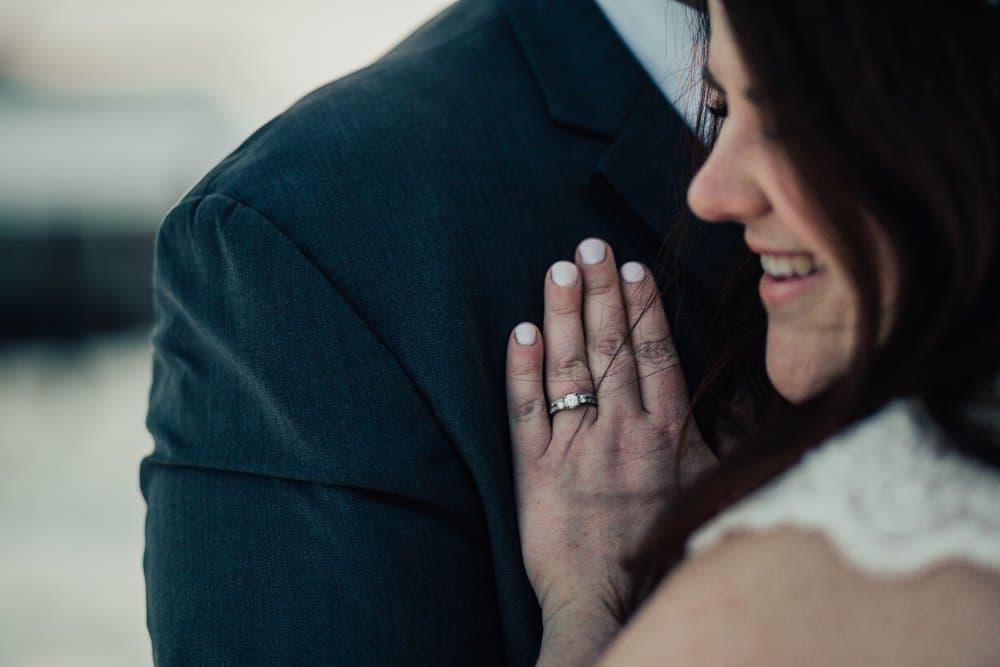 SNOWY OHIO BARN WEDDING | JOSH + HANNAH 52