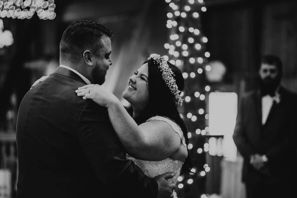 SNOWY OHIO BARN WEDDING | JOSH + HANNAH 53