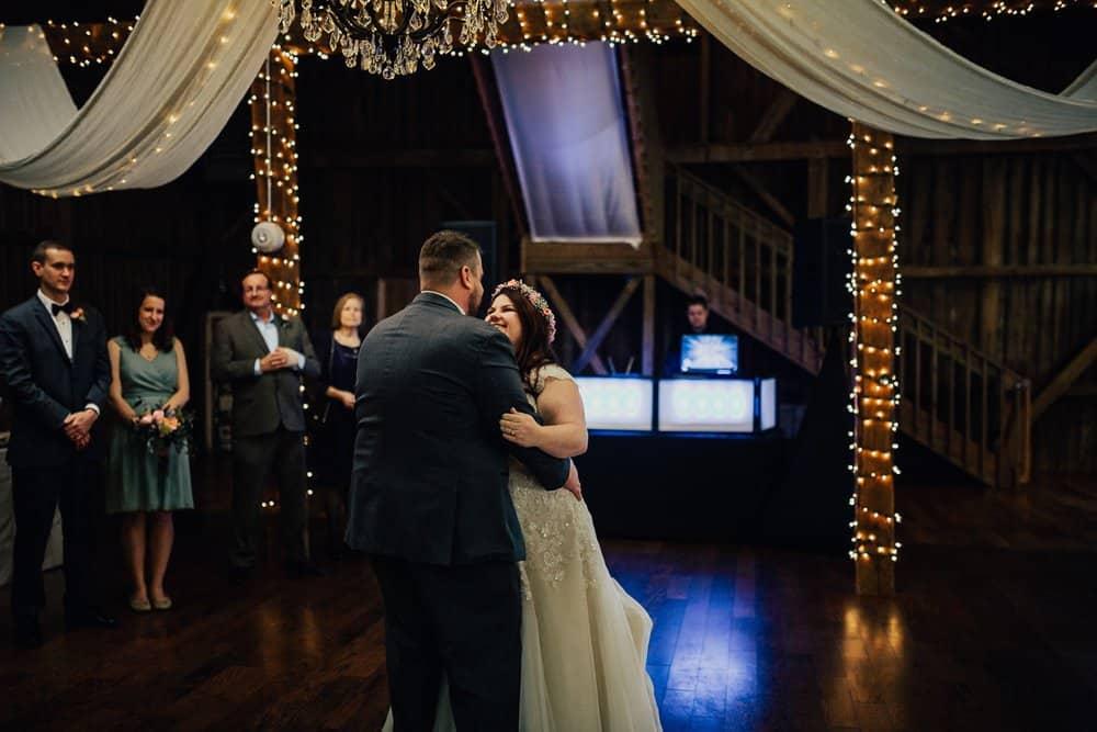 SNOWY OHIO BARN WEDDING | JOSH + HANNAH 54