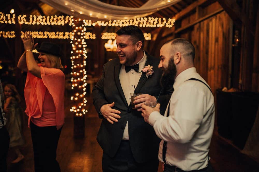 SNOWY OHIO BARN WEDDING | JOSH + HANNAH 57