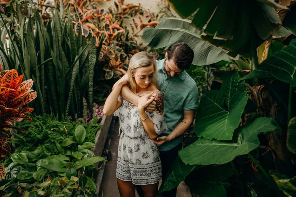 OHIO GREENHOUSE SESSION | SHAWN + ALEXA 5