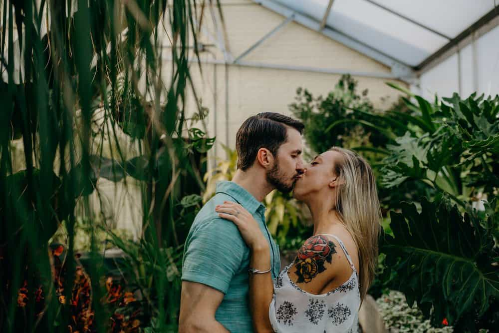 OHIO GREENHOUSE SESSION | SHAWN + ALEXA 9