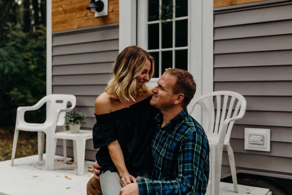OHIO TINY HOME SESSION | DYLAN + AMY 28