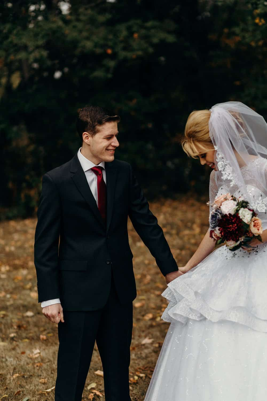 INTIMATE FALL WEDDING | GARRETT + NICOLE 16