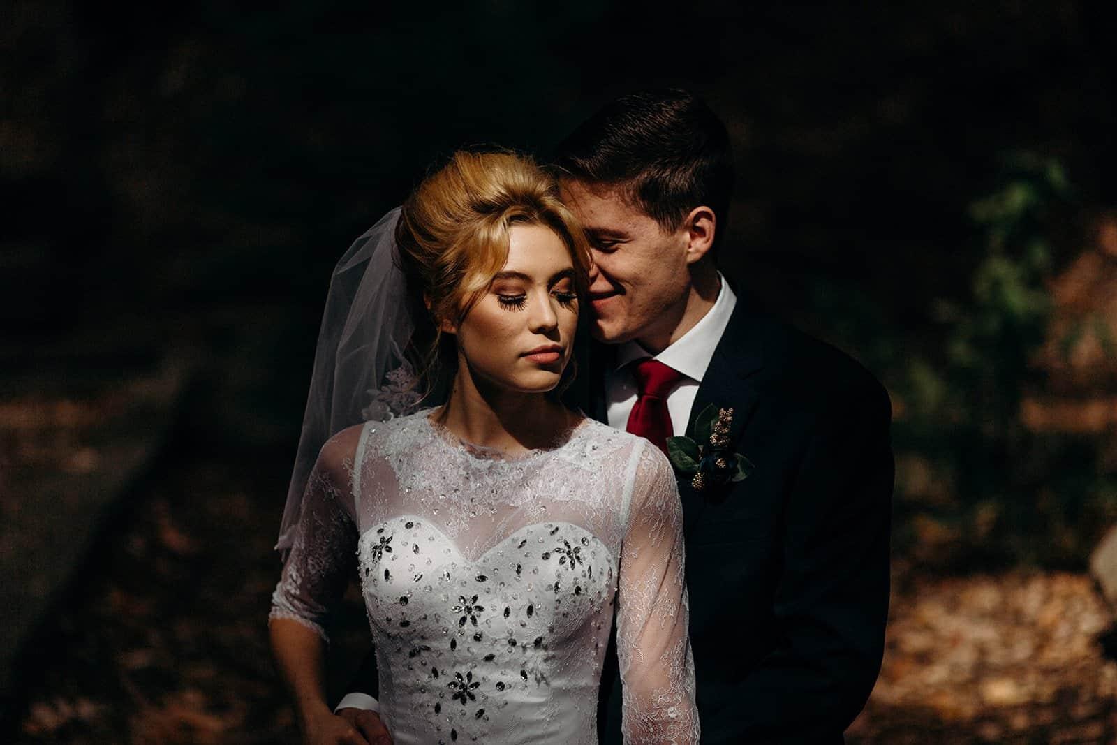 INTIMATE FALL WEDDING | GARRETT + NICOLE 14