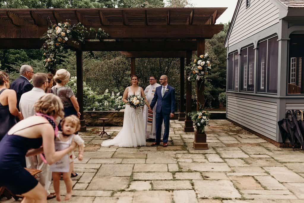 backyard ceremony location