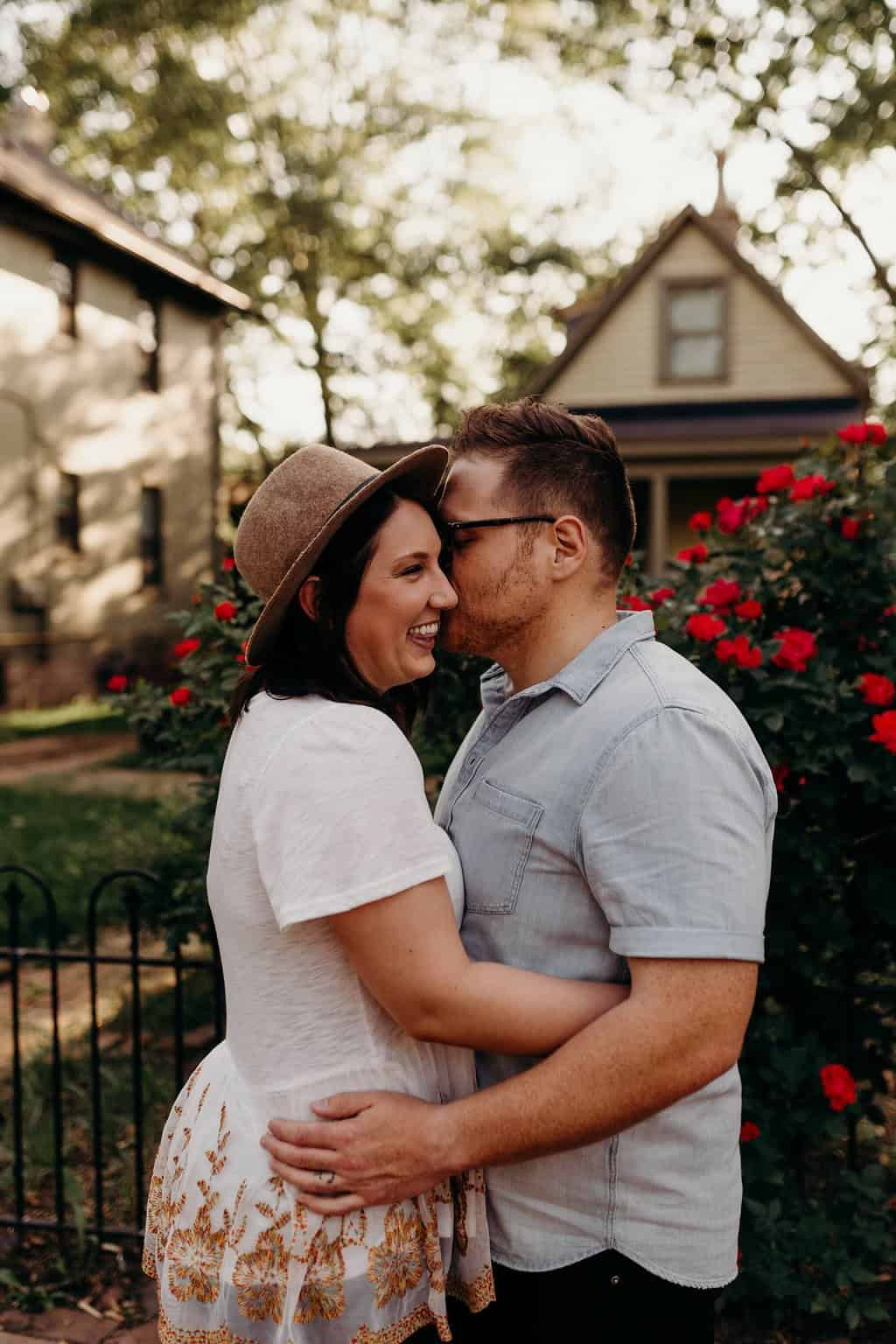 COLUMBUS OHIO ENGAGEMENT SESSION | MATT + TESS 88