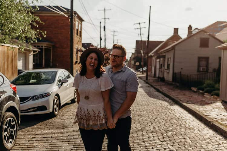 COLUMBUS OHIO ENGAGEMENT SESSION | MATT + TESS 58