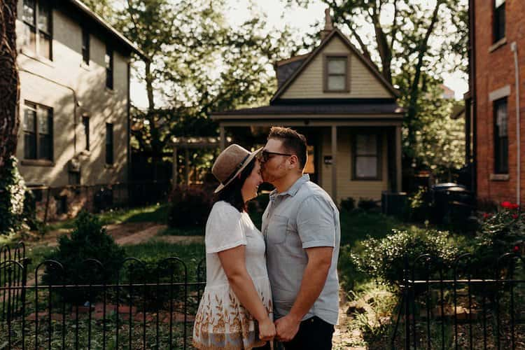 COLUMBUS OHIO ENGAGEMENT SESSION | MATT + TESS 57