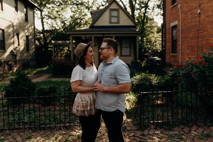 COLUMBUS OHIO ENGAGEMENT SESSION | MATT + TESS 78