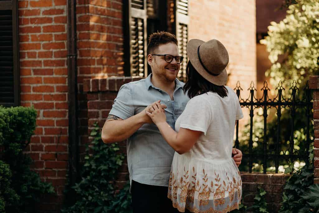 COLUMBUS OHIO ENGAGEMENT SESSION | MATT + TESS 82