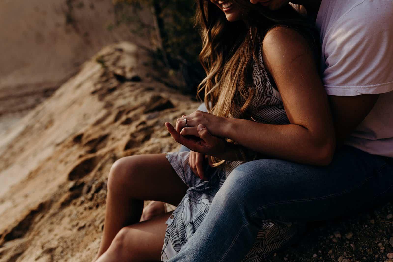 Ohio Sand Dunes Engagement   Addison + Morgan 126