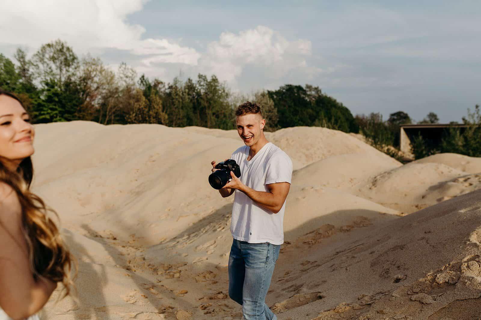 Ohio Sand Dunes Engagement   Addison + Morgan 85