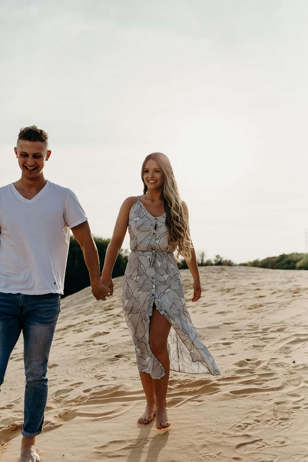 Ohio Sand Dunes Engagement | Addison + Morgan 151