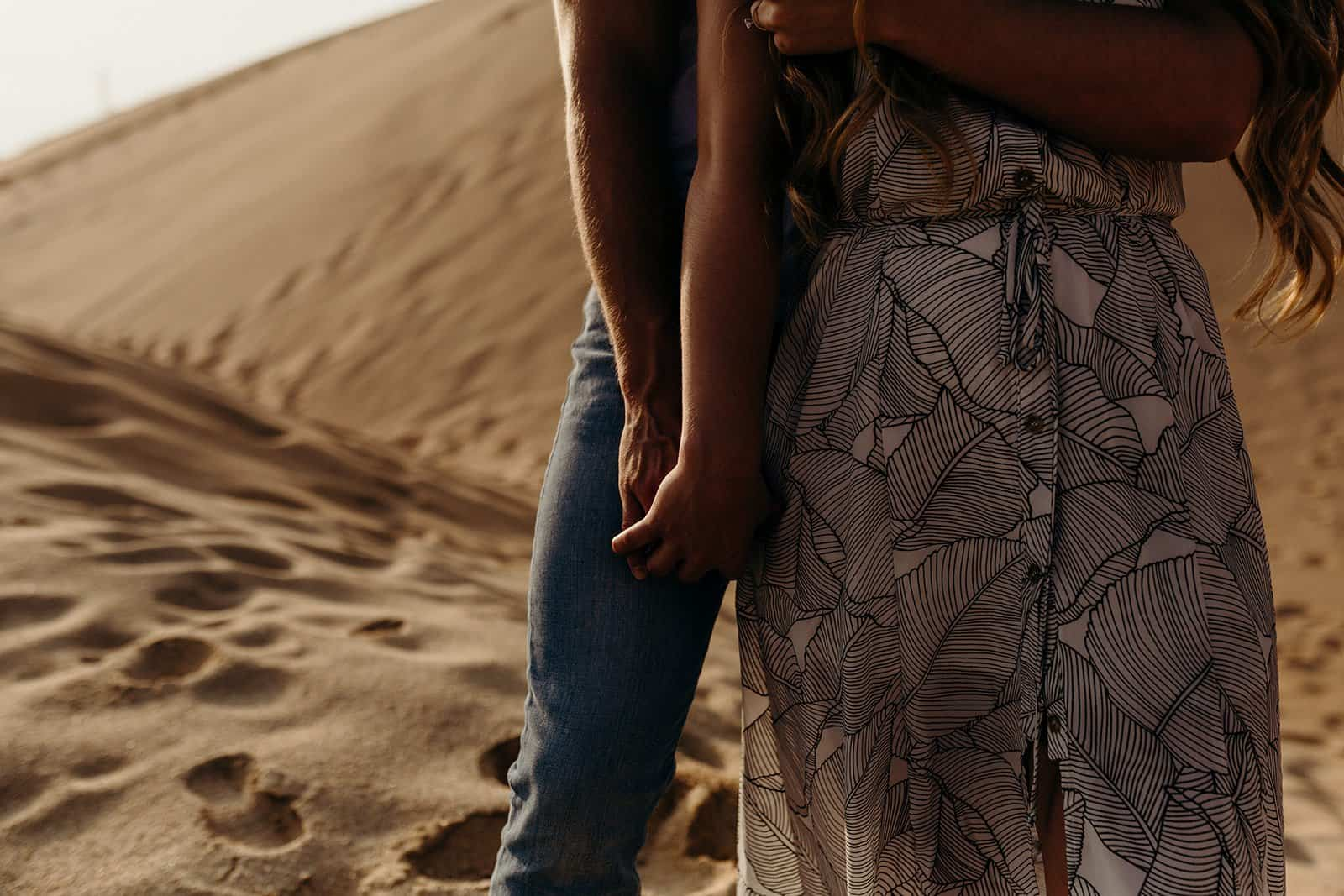 Ohio Sand Dunes Engagement | Addison + Morgan 179