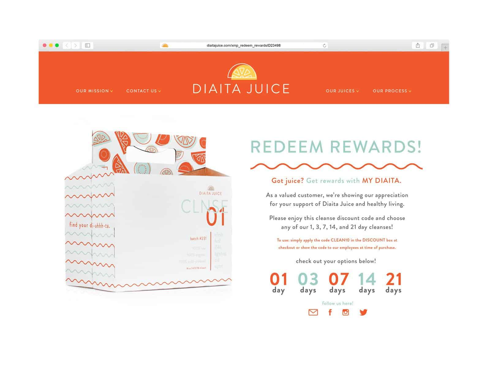 Diaita Cold Pressed Juice 28