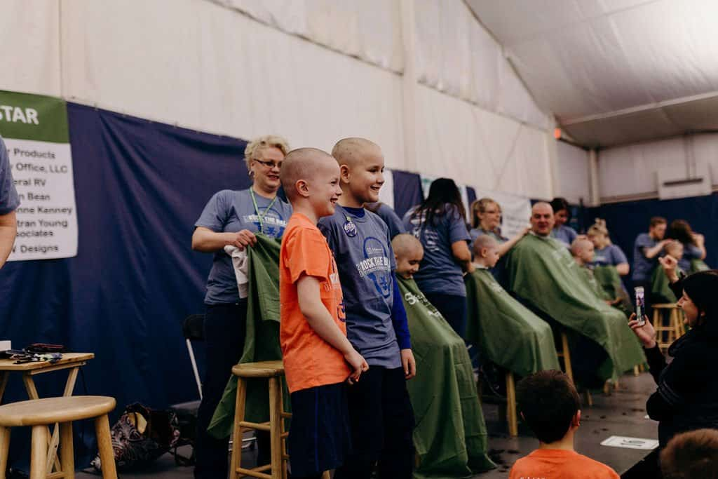 St. Baldricks | I bet you wouldn't shave your head 183