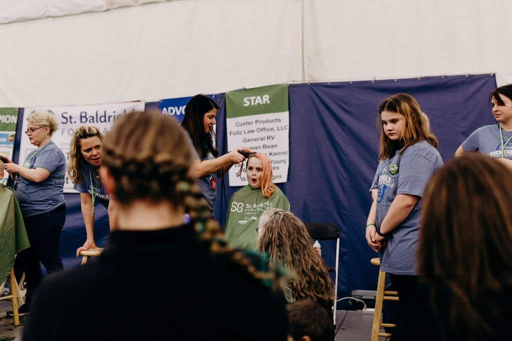 St. Baldricks | I bet you wouldn't shave your head 187