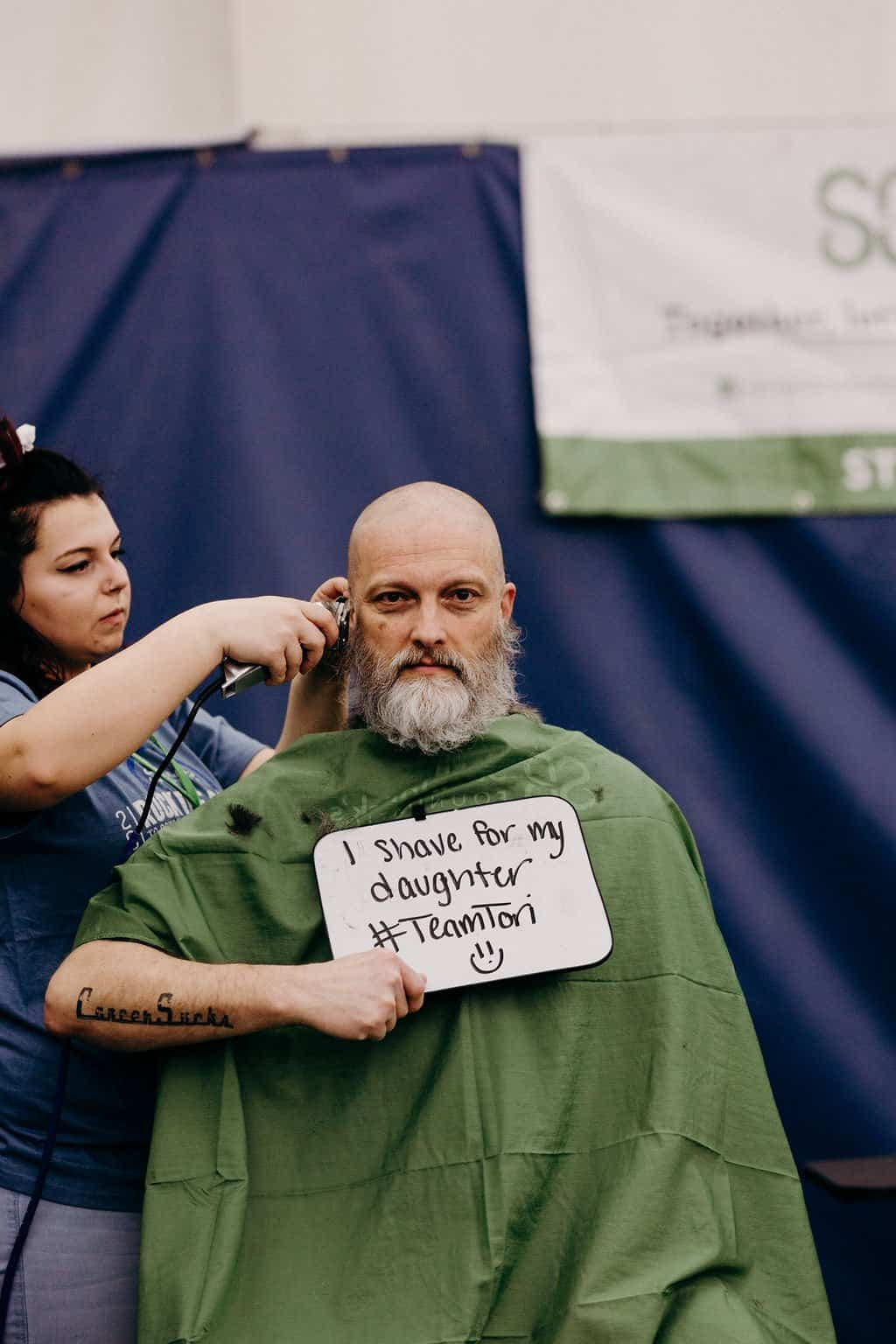 St. Baldricks | I bet you wouldn't shave your head 117