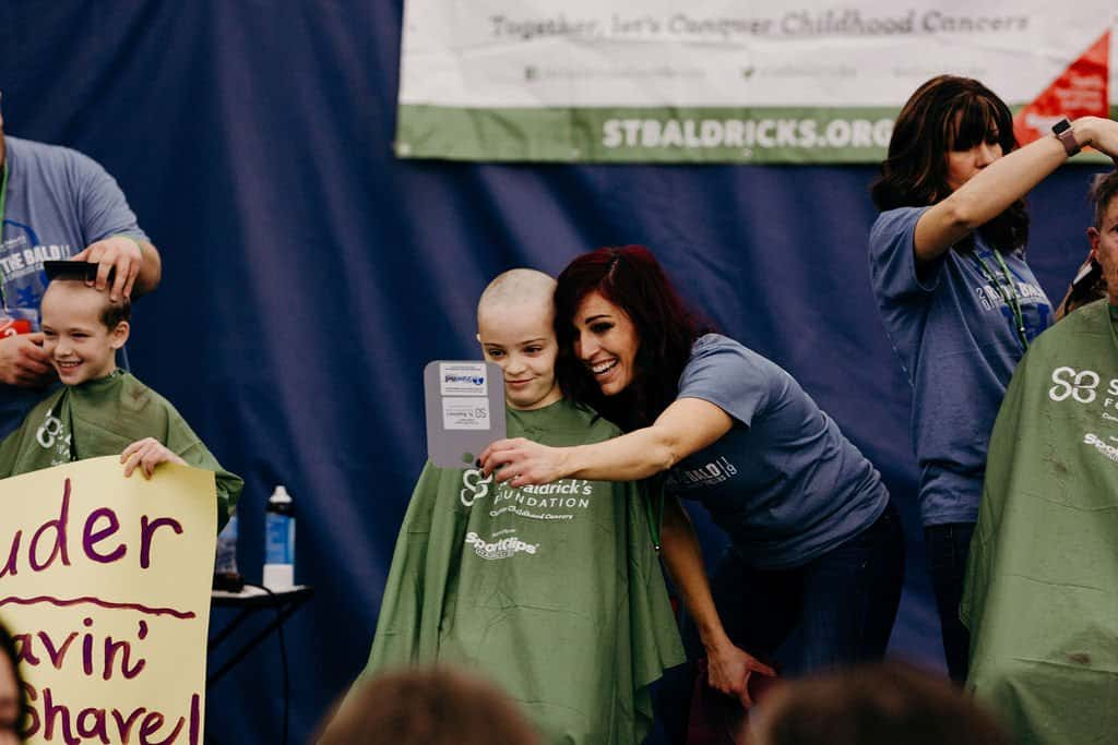 St. Baldricks | I bet you wouldn't shave your head 118