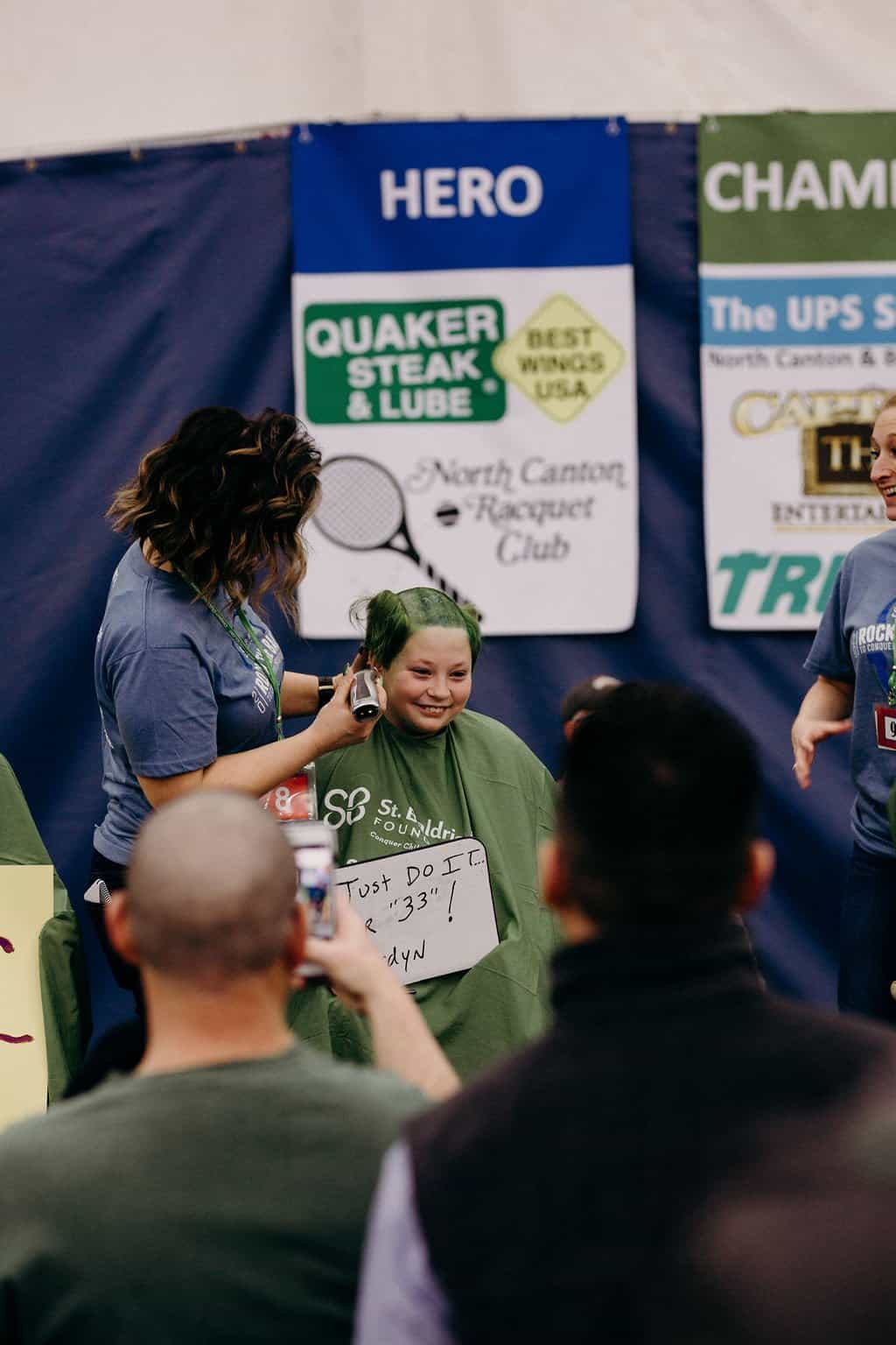 St. Baldricks | I bet you wouldn't shave your head 199