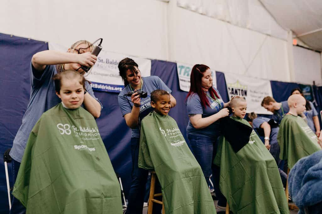 St. Baldricks | I bet you wouldn't shave your head 201