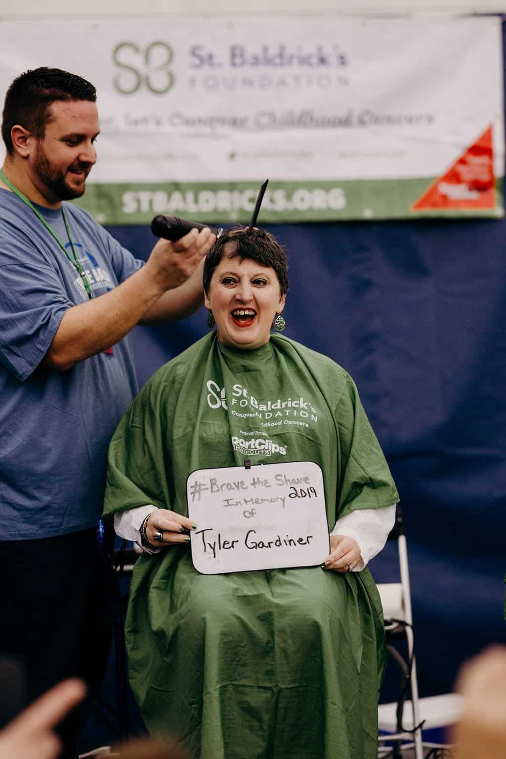 St. Baldricks | I bet you wouldn't shave your head 202