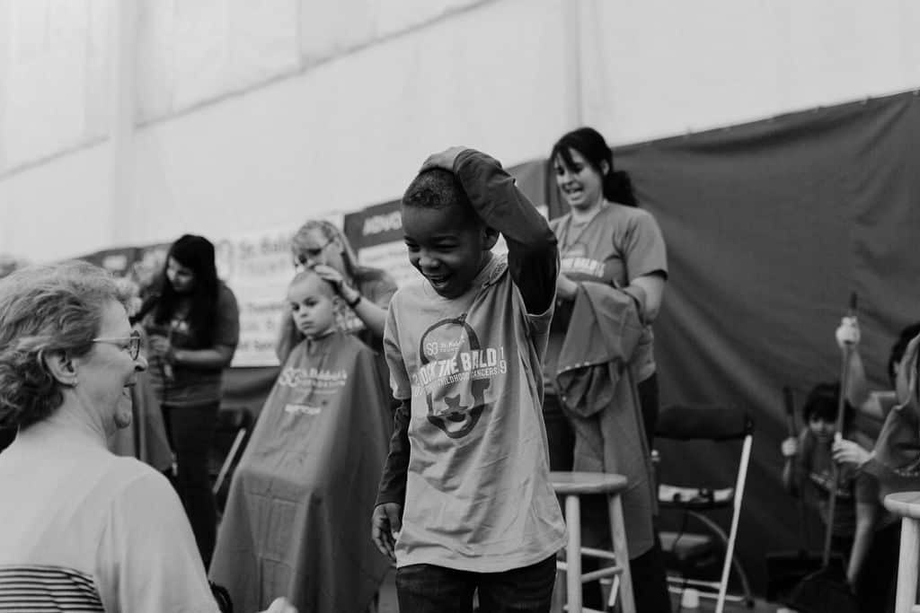St. Baldricks | I bet you wouldn't shave your head 123