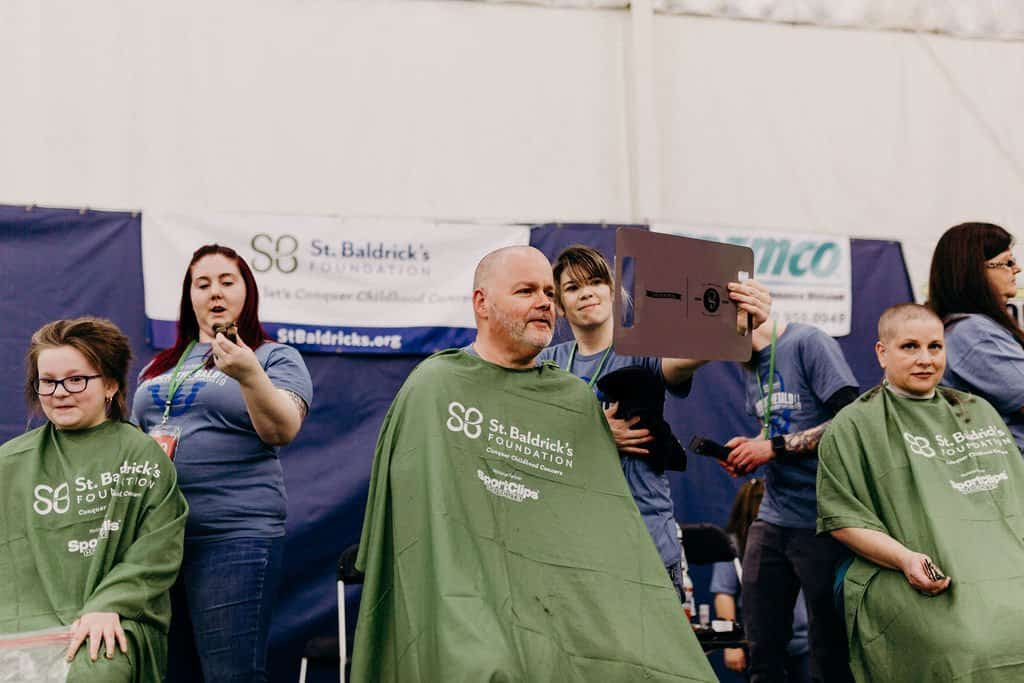 St. Baldricks | I bet you wouldn't shave your head 126