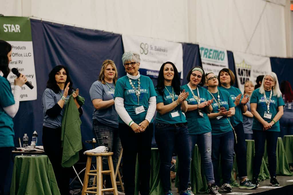 St. Baldricks | I bet you wouldn't shave your head 84