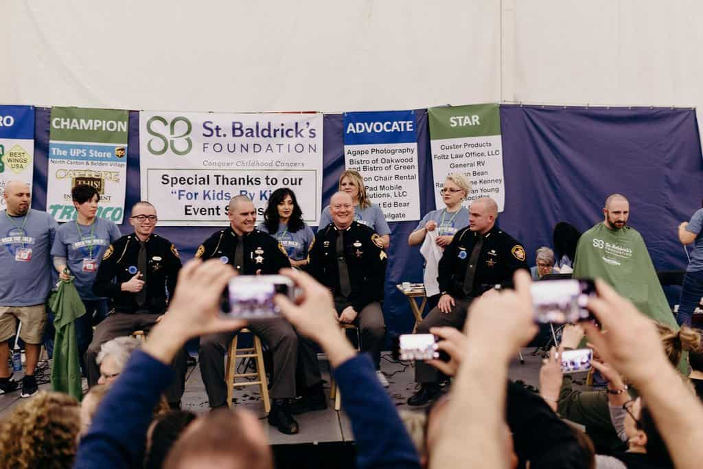 St. Baldricks | I bet you wouldn't shave your head 132