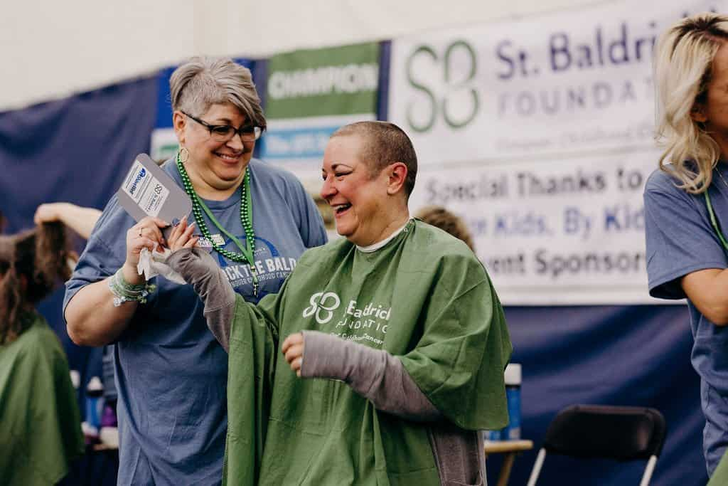 St. Baldricks | I bet you wouldn't shave your head 215