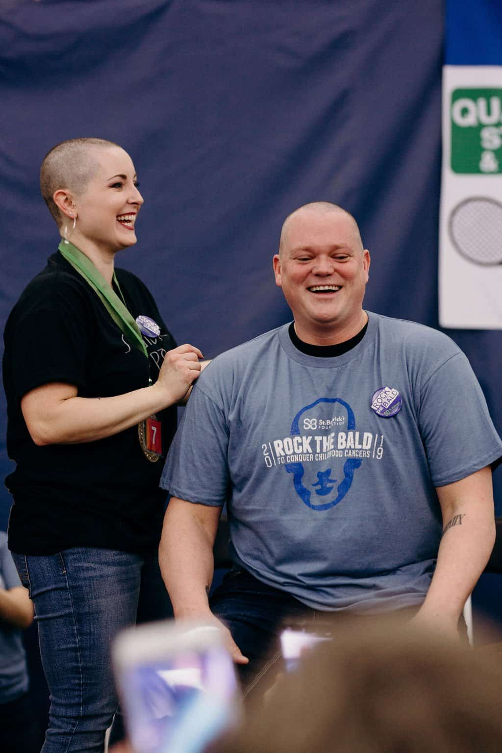 St. Baldricks | I bet you wouldn't shave your head 218