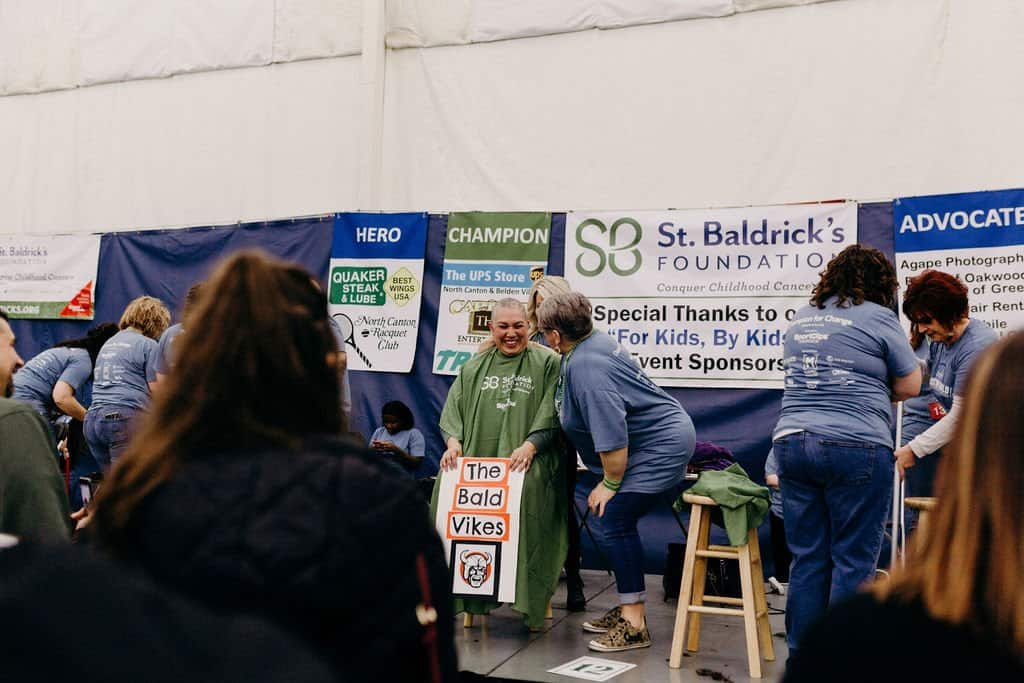 St. Baldricks | I bet you wouldn't shave your head 143