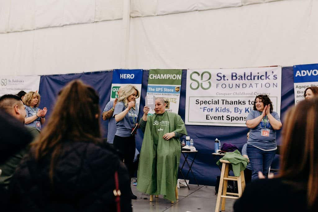 St. Baldricks | I bet you wouldn't shave your head 144