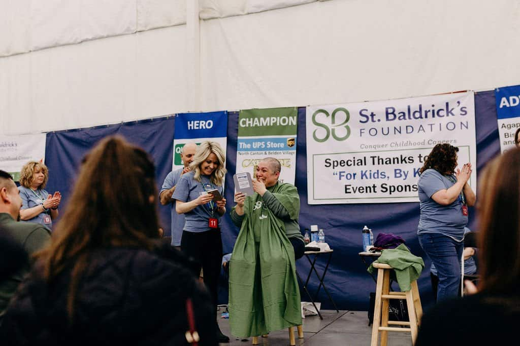 St. Baldricks | I bet you wouldn't shave your head 226